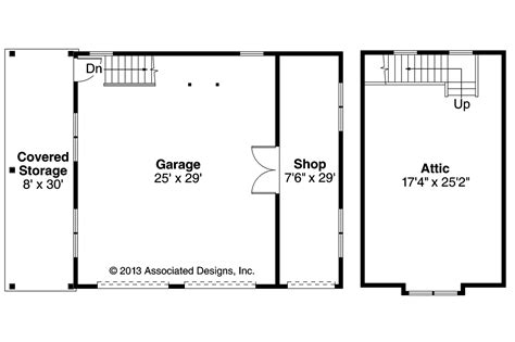 house with attic floor plan craftsman house plans 2 car garage w attic 20 100
