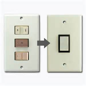 ge new style snap in low voltage wall switch plates
