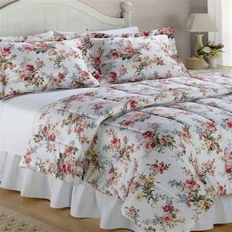 4p ralph lauren petticoat king comforter sham set bed skirt