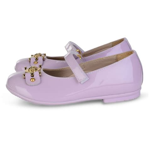 lilac shoes versace baby lilac shoes with straps and gold