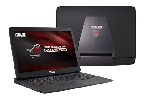asus rog g751jt ch71 17 3 quot gaming notebook with nvidia 970m windows laptop tablet specs