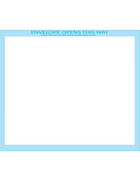 booklet envelope template booklet envelopes 5 1 2 x 8 1 8 front free