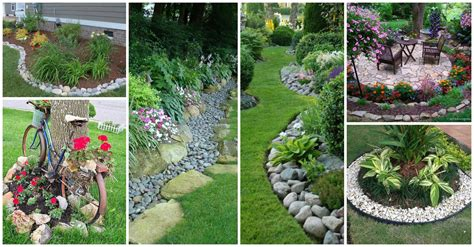 pebbles and rocks garden 11 impressive garden edging ideas with pebbles and rocks