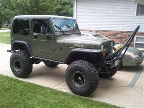linex jeep green hardtop painting tj quadratec jeep forum