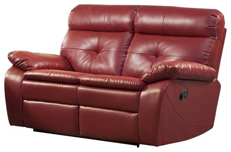 red leather loveseat recliner red leather reclining loveseat 28 images shae joplin