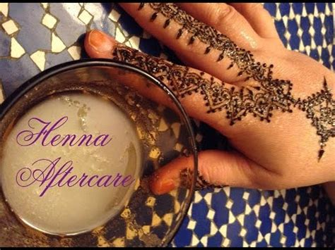 Henna Tattoo Care Lemon Juice | henna aftercare lemon lime sugar application youtube