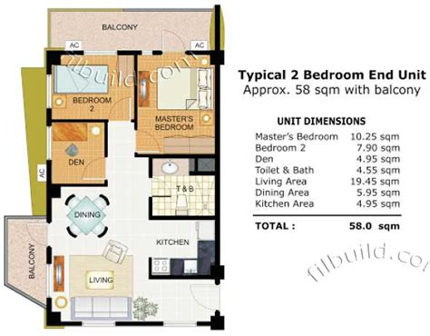Builder Home Plans condo sale at cypress towers in taguig city by dmci homes