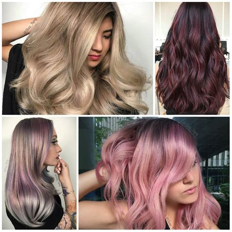 what colors are in for 2017 hair color ideas best hair color trends 2017 top hair