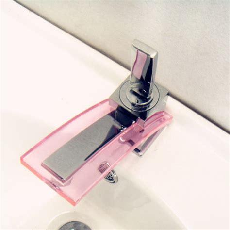 Pink Faucet by Glass Bathroom Sink Faucet Pink Modern Bathroom Sink