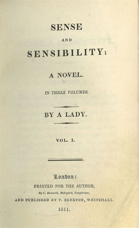 sense and sensibility books discussion of austen s sense and sensibility the