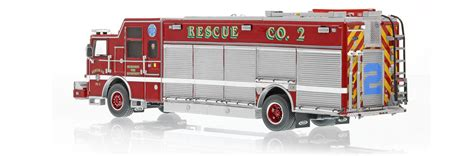 Fireplace Ltd Milwaukee by Replicas Milwaukee Department Rescue 2 Scale Model