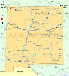new mexico map listings united states