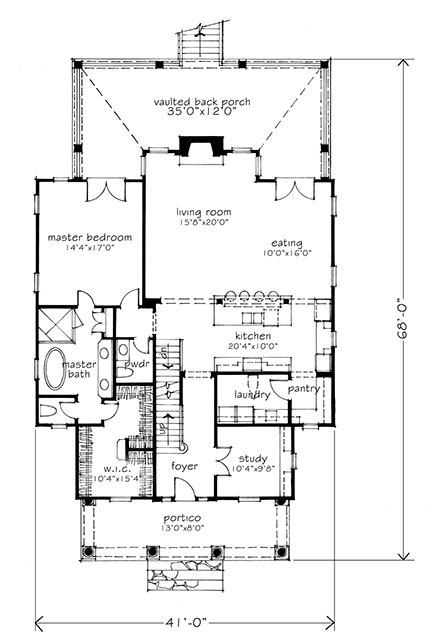 floor plans southern living house plan dewy rose sl1842 by southern living house