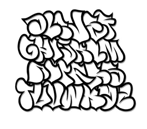 graffiti fonts on clipart library graffiti font