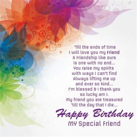 Birthday Thanks Quotes To Friends Awesome Birthday Quotes For Special Friend Nicewishes