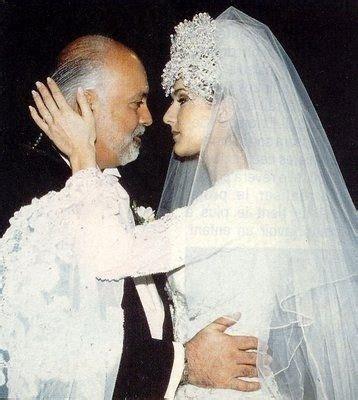 Celine Dion Wedding Photos   weddingfunstuff