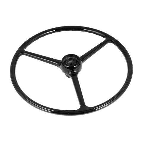 Steering Wheel Jeep 18031 04 Steering Wheel For Jeep Cj 1964 75 Black
