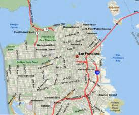 San Francisco Hotels Map by Pick Your Area