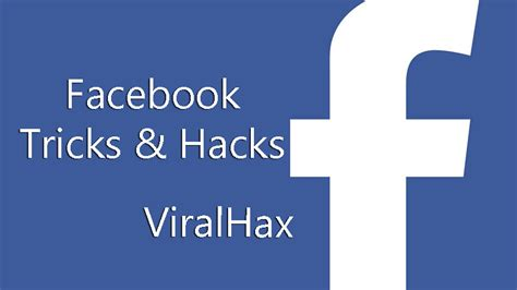 best pc tricks 2018 and pc hacks new facebook tricks and hacks 2018 best fb tips