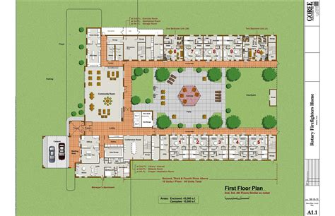 Nursing Home Floor Plan by Nursing Home Floor Plans Building Plans 37876
