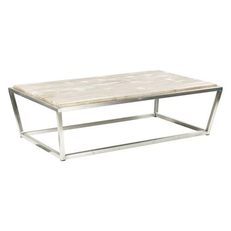White Rectangular Coffee Table White And Wood Coffee Table