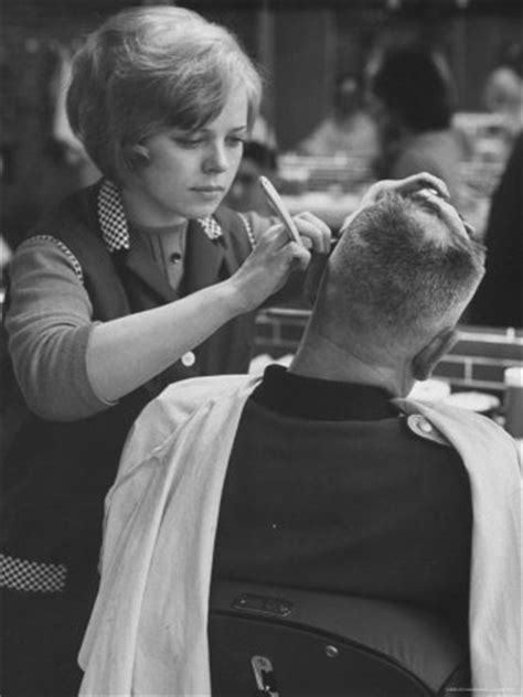 lady barber shaving pin by vicky basteed on barber pinterest