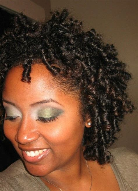 short rodded hairstyles transitioning natural hairstyle flexi rod set