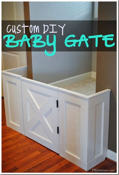 custom home design checklist a diy baby gate chris loves how to make a custom built baby gate diy project home