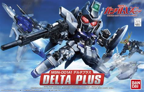 Bandai Sd Gundam No 379 Delta Plus sd gundam bb senshi 379 msn 001a1 delta plus update