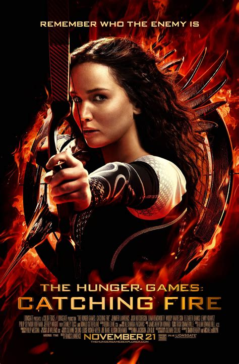 film hunger games a look back at the hunger games movie posters