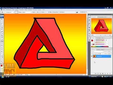 tutorial photoshop zeichnen adobe photoshop tutorial unm 246 gliches dreieck zeichnen