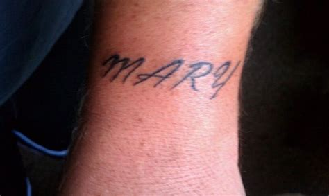 husband name tattoos my husband and on