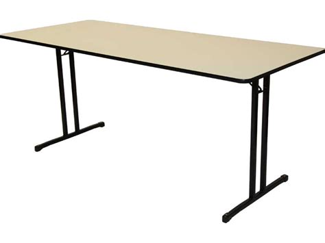 Folding Utility Table by Folding Melamine Utility Tables Hiten Manufacturing