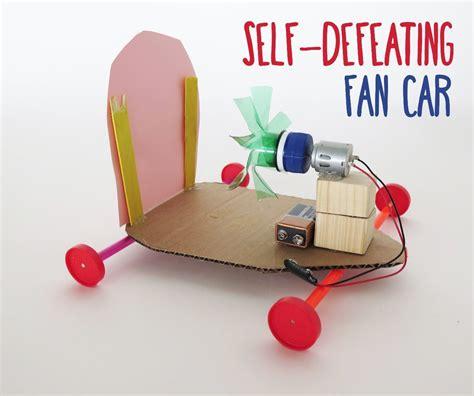 Self defeating fan car