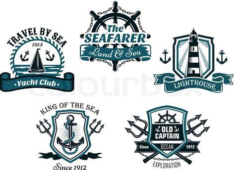 regal boats logo vector nautival various heraldic emblem and symbols designs with
