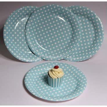 Piring Kue Motif Polkadot piring kertas biru polkadot pestaseru toko grosir perlengkapan pesta