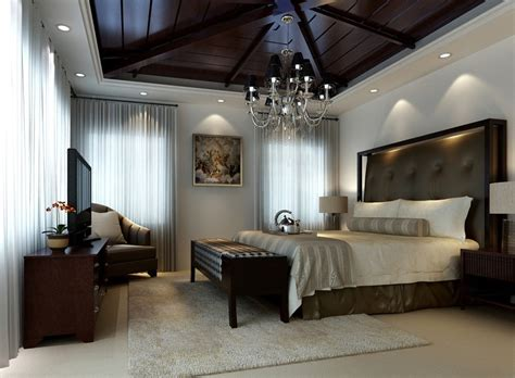 chandelier in bedroom bedroom wooden ceiling and europe chandelier 3d house