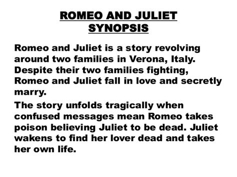 summary of romeo and juliet khafre english research assighnment