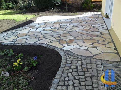 terrasse quarzit 28 best images about irregular slabs polygonalplatten on