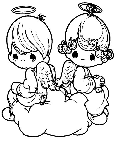 imagenes angeles navideños para colorear dibujos de navidad angeles para colorear
