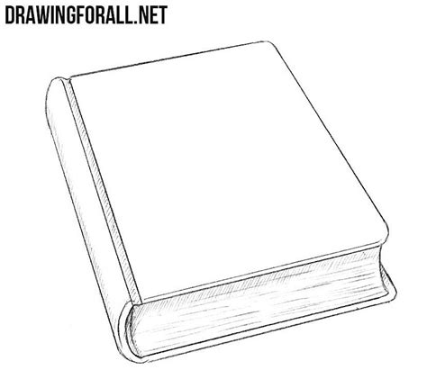 how to start a doodle book how to draw a closed book drawingforall net