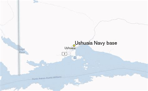 ushuaia navy base weather station record historical
