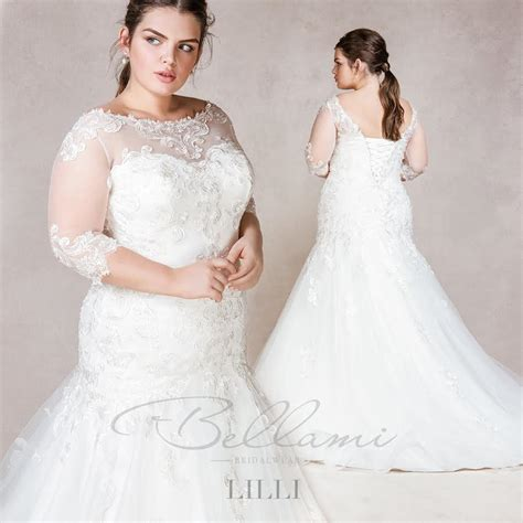 Wedding Dresses Plus Size Uk by Bellami Bridal Plus Size Wedding Dresses For Beautiful