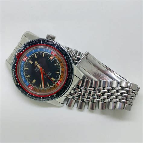 Bor Gmt 1969 enicar sherpa guide gmt with bor bracelet mywatchmart