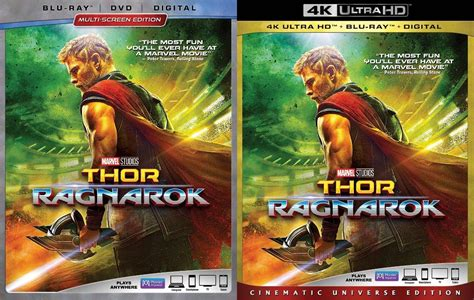 film thor ragnarok bluray thor ragnarok released on dvd blu ray 4k