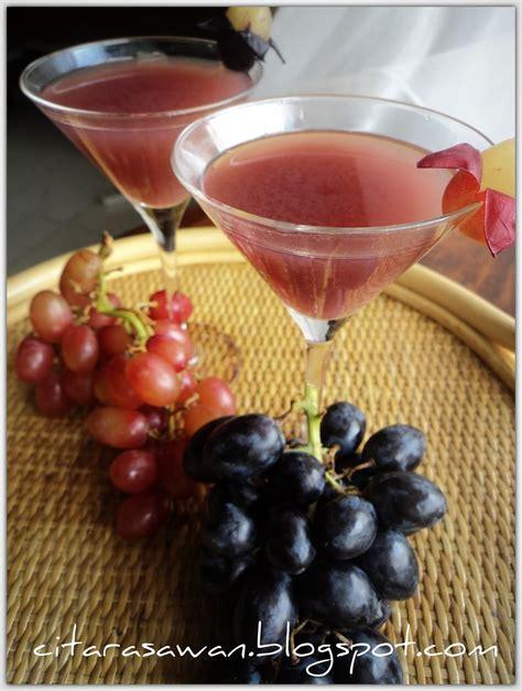 jus anggur blog kakwan