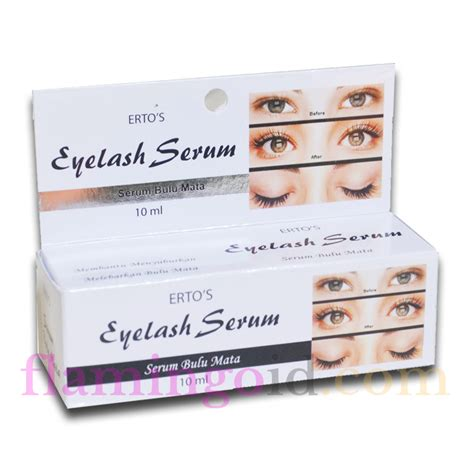 ertos eyelash serum produk ertos care penumbuh