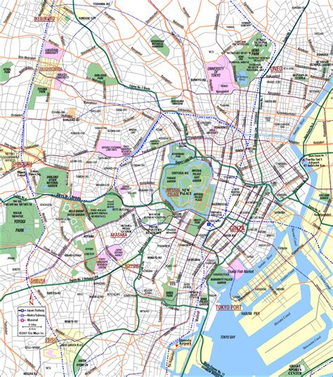 map of tokyo tokyo map detailed city and metro maps of tokyo for orangesmile