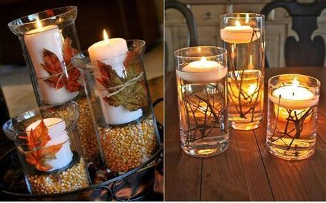 fare candele come fare delle candele in stile autunnale