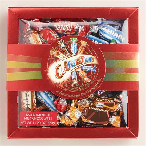 International Standart Chocholate Colatta oak celebrations chocolate box world market